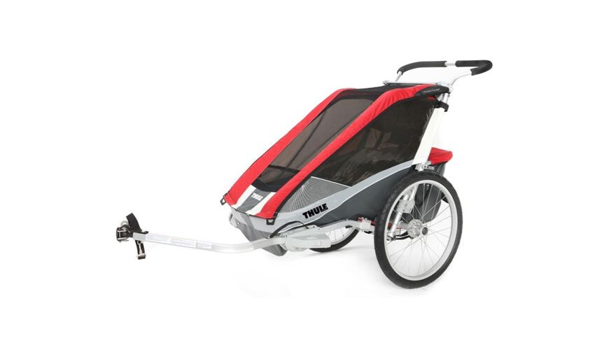 Thule Chariot Cougar 2 + Cycle Kit Red (10100936)